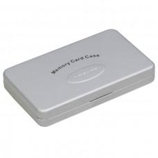 Алюминиевый чехол для карт памяти типа CF MCC 11